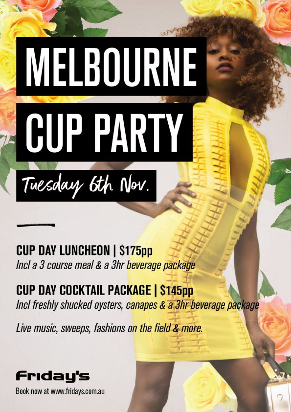 Melbourne Cup Day at Fridays